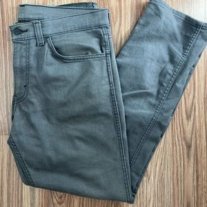 Men's Levi's Grey Straight Leg Jean 34/30